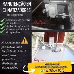 Título do anúncio: Vendas , reformas e manutenção em climatizadores