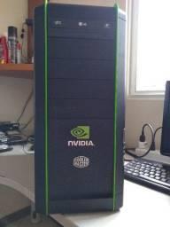 CPU I7 920 2.66ghz 8mb/12gb kingston/Placa Mãe MSI X58/ hd 320gb/ Fonte 500w Real Aerocool