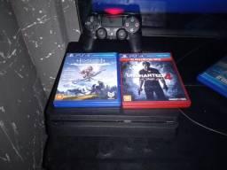 Título do anúncio: Playstation 4 slim