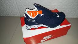 Tênis Nike Shox Nz 4 Molas Importado Premium