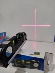 Nível a laser Profissional 3 em 1