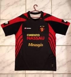 Camisa Sport Recife Lotto Original Preta