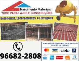 Título do anúncio: Materiais para obras lajes isopor e tijolos tijolos blocos ferro e muito mais