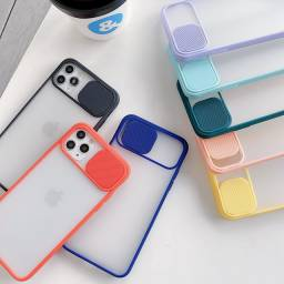 Capas case transparentes para iphone