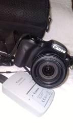 Título do anúncio: Canon PowerShot SX520 HS - 16 Mega Pixels - Super Zoom ótico 42X - Nova nunca usada