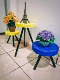 Título do anúncio: Banquetas para flores sobrepor objetos
