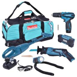 Combo Makita C/9pcs DF330D+JR100D+CL100D+ML101+MR051