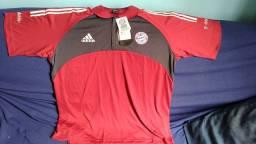 Título do anúncio: Polo Oficial Bayern Munique Original Adidas Zerada, na etiqueta GG