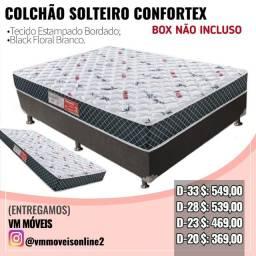 Cama Box Confortex Novo Entrega Goiânia e Aparecida