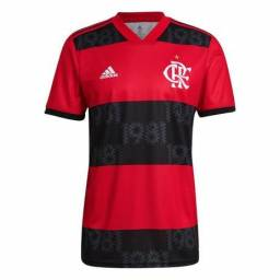 Camisa Flamengo I 21/22 s/n Torcedor Adidas Masculina