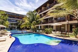 LG- Localizado na melhor praia de Muro alto, flats com 2 quartos..