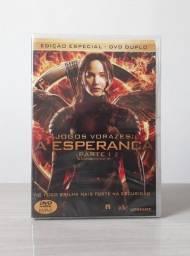 DVD Duplo Jogos Vorazes: A Esperança Parte I - Edição Especial (Versão Nacional) Lacrado
