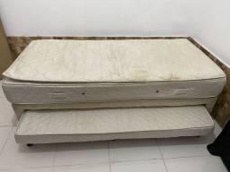 Vendo cama Box Solteiro bicama