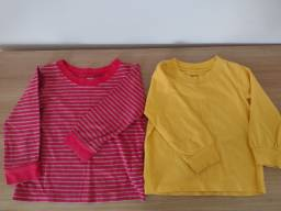 Duas camisetas Carter's