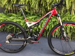 Bicicleta Seminova Specialized Stump Jumper Expert Carbono