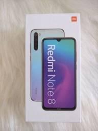 Redmi Note 8 da Xiaomi.. Novo Lacrado com Pronta Entrega!  Parcelo cartão.