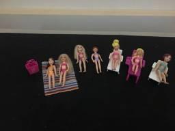 Kit Barbie na praia