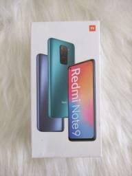 Redmi Note 9 da Xiaomi.. Novo Lacrado com Pronta Entrega!  Parcelo cartão.