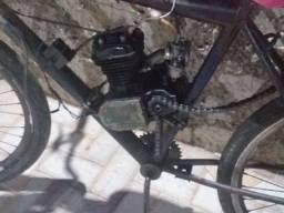 Título do anúncio: Vendo bicicleta motorizada precisando de reparo mais embreagem tirando isso