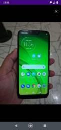 Moto G7 Pawoer 32gigas celular grande novinho
