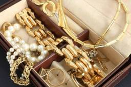 Maleta de semi jóias luxo