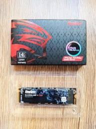 Título do anúncio: SSD M2 NVMe PCIe 128 GB 2280/2242 kingspec ( Novo)