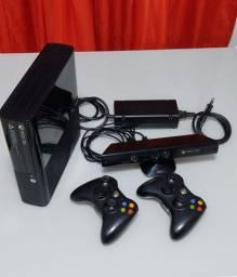 Título do anúncio: Xbox 360 com Kinect e 15 jogos originais