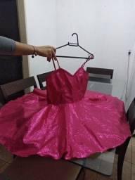Vendo vestido de festa tamanho ( M ) com grite