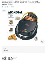 Título do anúncio: Sanduícheira e grill 2 em 1