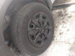 Aros e pneus original gol g7 R14