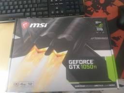 Placa de video Gtx 1050 ti 4gb - lacrada