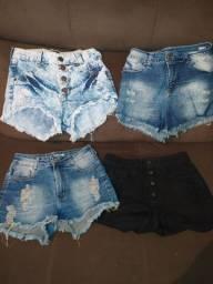 Lote de shorts jeans