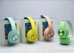 Headphone Inpods Boom Led Bluetooth Wireless Microsd<br><br> Fone de Ouvido Sem Fio