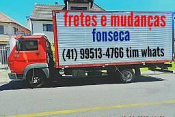 Mudanças fretes carretos e viagens. (41). 99513.4766 Fonseca ligue.