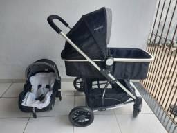 Carrinho de Bebê Kiddo Winner Travel System com Bebê Conforto