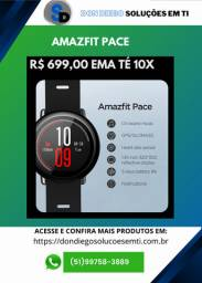 Smartwatch Amazfit Pace Black + GPS + Music