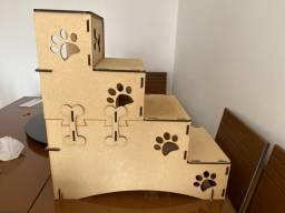 Escada para cachorros pequenos