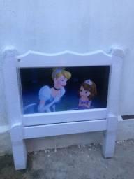 Cama Infantil em Madeira Maciça da Cinderela e Princesa Sofia #Entrega E Montagem Grátis