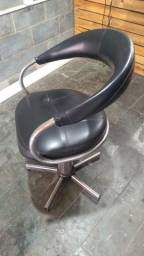Cadeira hidráulica para salão e barbearia