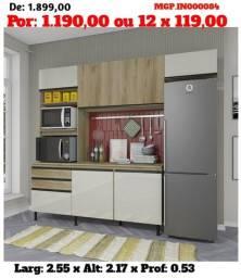 Título do anúncio: Armario de Cozinha- Cozinha Compactada com Balcão- Saldão em Ponta Grossa Desconto