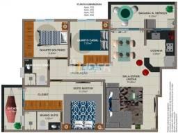 Título do anúncio: Apartamento à venda com 3 dormitórios em Jardim botânico, Uberlandia cod:24365