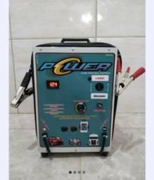 Título do anúncio: Carregador de Baterias Automotivas NOVO 1 Ano de Garantia
