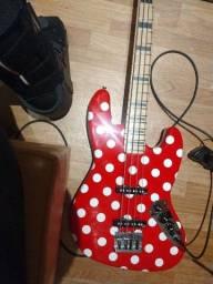 Título do anúncio: Jazz Bass Músic Maker exclusivo