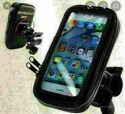Kit motoboy Carregador para celular e capa protetora