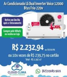 Título do anúncio: Ar Condicionado LG Dual Inverter Voice 12mil Btus
