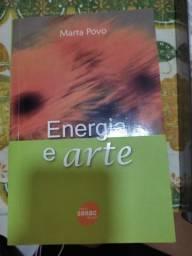 Título do anúncio: Livro Energia e arte<br><br>Marta Povo<br><br>