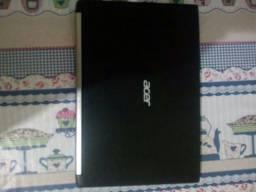 Título do anúncio: Notebook acer spire i5 sétima geração. Placa de vídeo dedicada e integrada ssd 240gb.