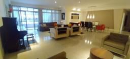 RE-Luxuoso Apartamento na quadra da Praia da Costa,salas em ambientes,3suítes