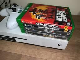 Xbox one S com jogos 1TB!