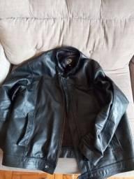 Jaqueta de couro legítimo